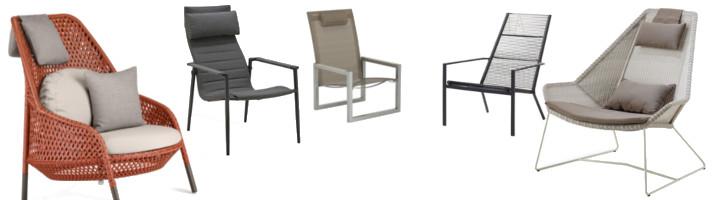 sessel hochlehner loungem bel produktart pavilla online shop. Black Bedroom Furniture Sets. Home Design Ideas