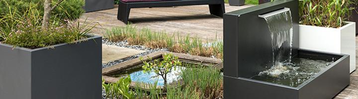 WASSEROBJEKTE von Gartensilber