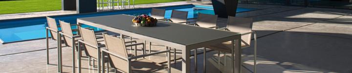 TABOELA Aluminium Tischsystem von Royal Botania