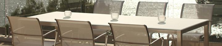 TABOELA Edelstahl Tischsystem von Royal Botania