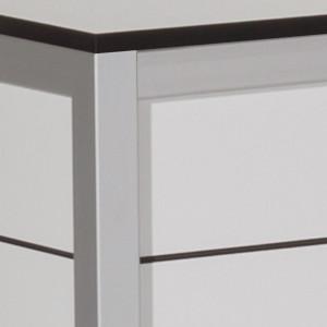 noxo aufbewahrungstruhe 129x68x62cm hpl anthrazit. Black Bedroom Furniture Sets. Home Design Ideas