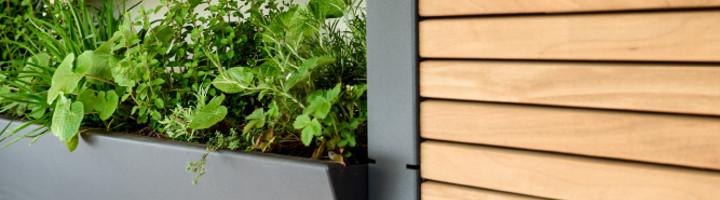 VERTIKALGARTEN / PARAVENT von Gartensilber