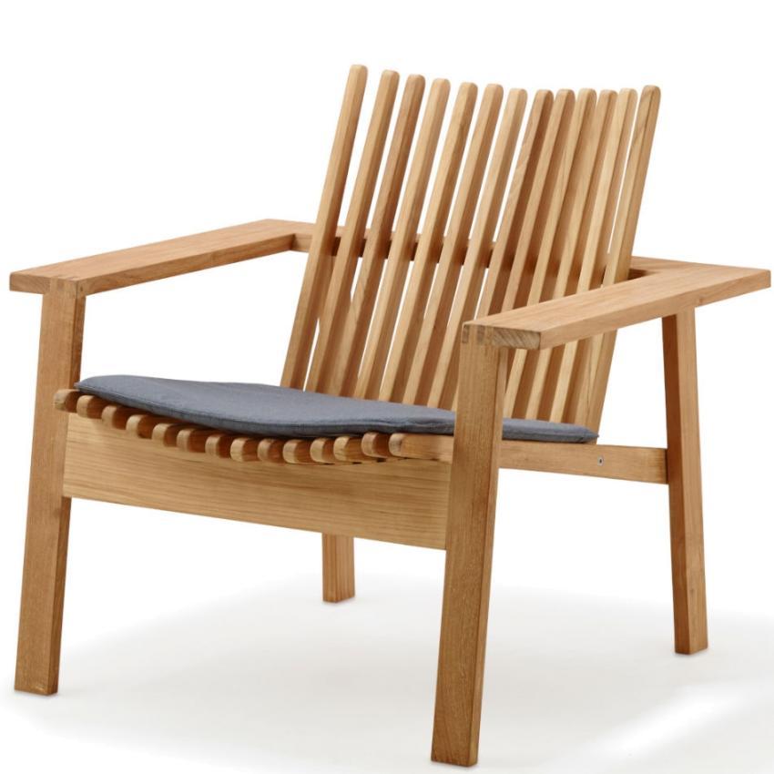 AMAZE • Outdoor Loungesessel / Loungechair • stapelbar • Teakholz • Cane-line AMAZE • Outdoor Loungesessel / Loungechair • stapelbar • Teakholz • Cane-line 71619