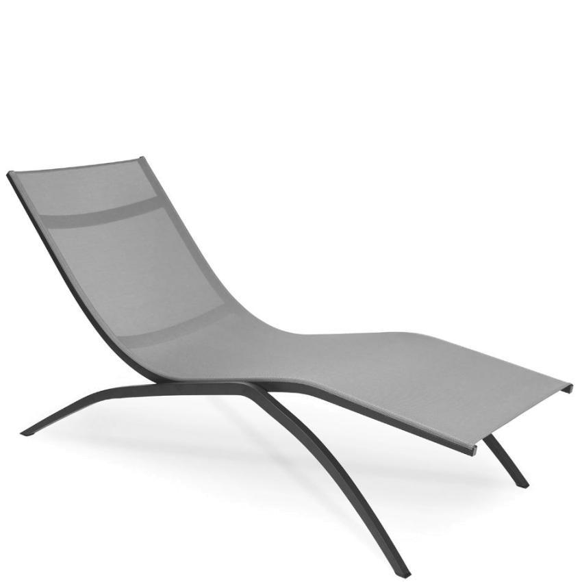 ATLANTIC • Relax Liege • stapelbar • Anthrazit • Fischer Möbel ATLANTIC • Relax Liege • stapelbar • Anthrazit • Fischer Möbel 79652