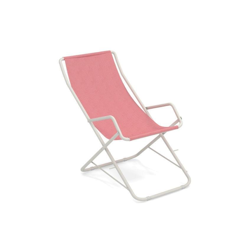 BAHAMA • Liegestuhl • Mattweiss/Pink • EMU BAHAMA • Liegestuhl • Mattweiss/Pink • EMU 1 66977