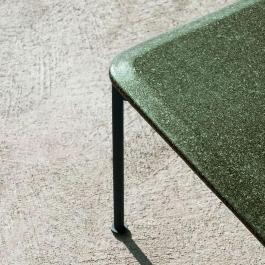 BOREA • Gartentisch / Esstisch • 244×105cm • Edelstahl / Lava-Stein • B&B Italia BOREA • Gartentisch / Esstisch • Edelstahl / Lava-Stein • B&B Italia 1 79264