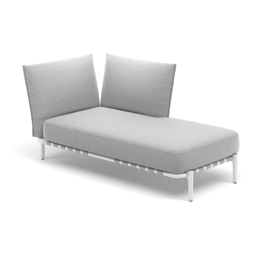 BREA • OUTDOOR Daybed links • 173,5cm • inkl.Polster • Dedon BREA • Daybed links 173,5cm inkl. Polster • Dedon 54393