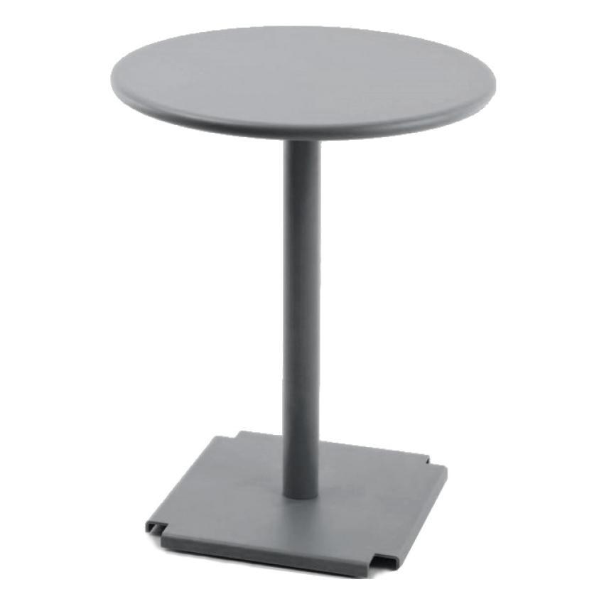 CROSS & TONIK • Bistrotisch • Grau Metallic • diverse Plattenvarianten • FAST CROSS & TONIK • Bistrotisch • Grau Metallic • diverse Plattenvarianten • FAST 37668