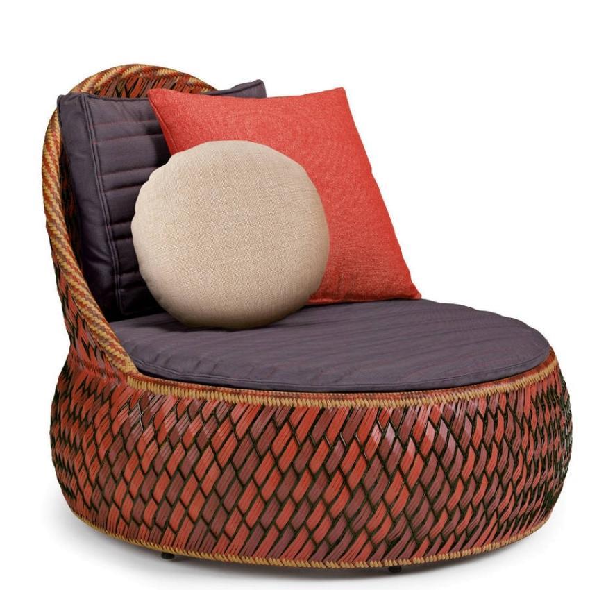 DALA • Outdoor Loungesessel / Loungechair • FIRE • Polster exklusive • DEDON DALA • Outdoor Loungesessel / Loungechair • FIRE • Polster exklusive • DEDON 62537