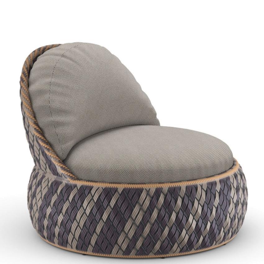 DALA • Outdoor Loungesessel • inkl.Polster-Satz • RIOJA • DEDON DALA • Outdoor Loungesessel / Loungechair • RIOJA • Polster inklusive • DEDON 76343