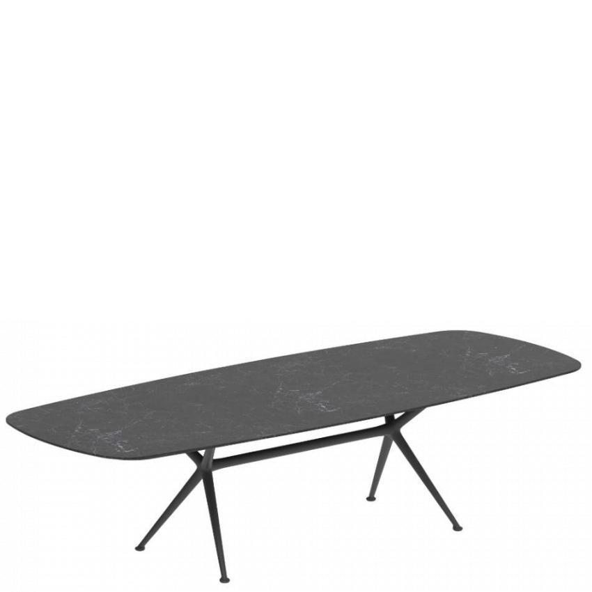 EXES • Gartentisch / Esstisch • 120×300cm • Aluminiumgestell • Teak-oder Keramikplatte • ROYAL BOTANIA EXES • Gartentisch / Esstisch • 120×300cm • Aluminiumgestell • Teak-oder Keramikplatte • ROYAL BOTANIA 66820