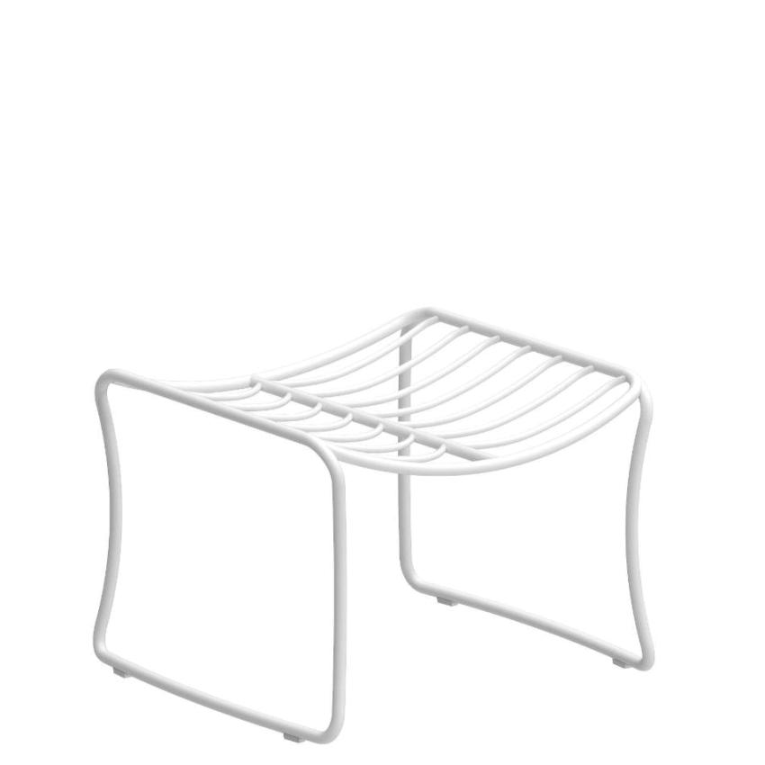 FOLIA • Fusshocker • Aluminium • div.Farben • ROYAL BOTANIA FOLIA • Fusshocker • WEISS •  ROYAL BOTANIA 66915