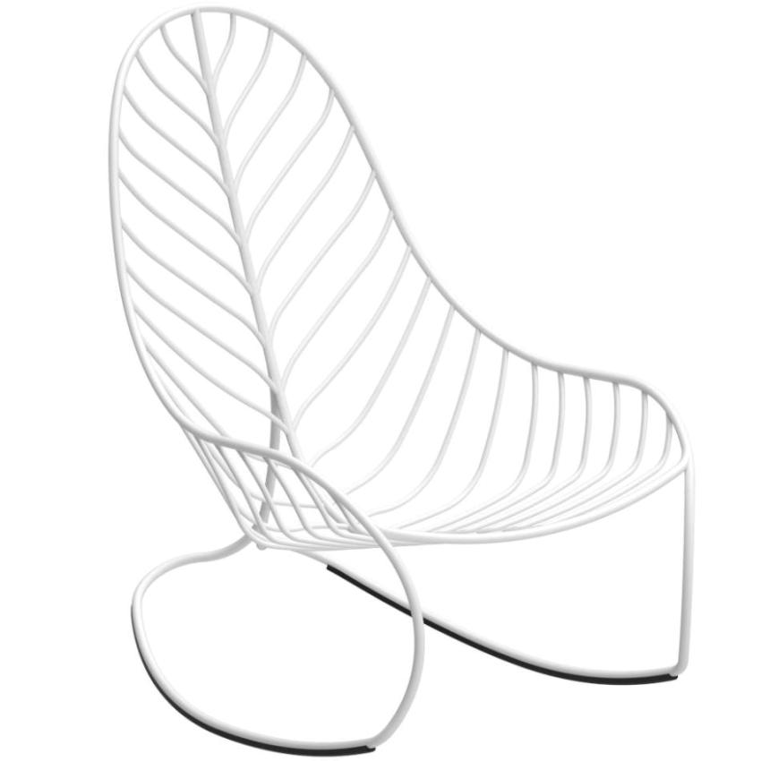 FOLIA • Schaukelstuhl / Rockingchair • Aluminium • div.Farben • ROYAL BOTANIA FOLIA • Schaukelstuhl / Rockingchair • WEISS • ROYAL BOTANIA 66899