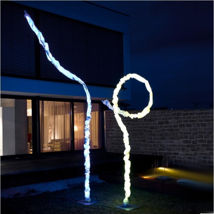 Joshua Outdoor Leuchte • LED RGB + weiß Farbwechsel Joshua Outdoor Leuchte • LED RGB + weiß Farbwechsel 33215
