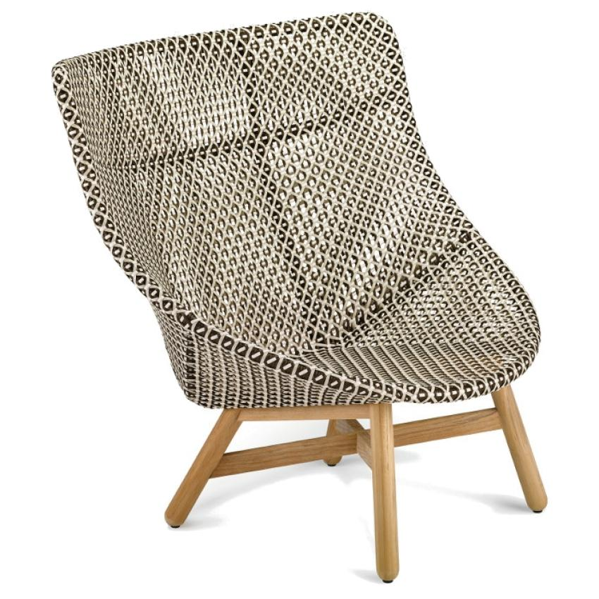 MBRACE • Outdoor Hochlehner / Wing Chair • Pepper • Polster exklusive • DEDON MBRACE • Hochlehner / Wing Chair  • Pepper • DEDON 37220