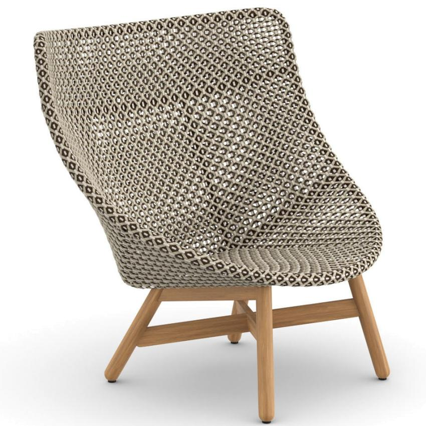 MBRACE • Outdoor Hochlehner / Wing Chair • Pepper • DEDON MBRACE • Outdoor Hochlehner / Wing Chair • Pepper • DEDON 76983