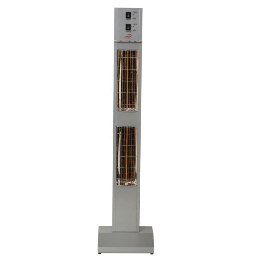 SMART TOWER IP24 OUTDOOR • Standheizstrahler • Silbergrau • BURDA SMART TOWER IP24 OUTDOOR • Standheizstrahler • Silbergrau • BURDA 1 79347