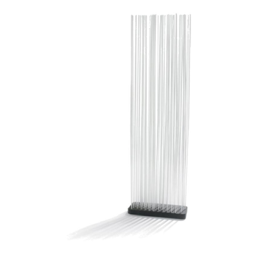 STICKS • Sichtschutz / Paravent • Basis 60x30cm • inkl.Glasfaserstäbe 210cm in div.Farben • EXTREMIS STICKS • Stabhöhe 210cm • EXTREMIS 40462