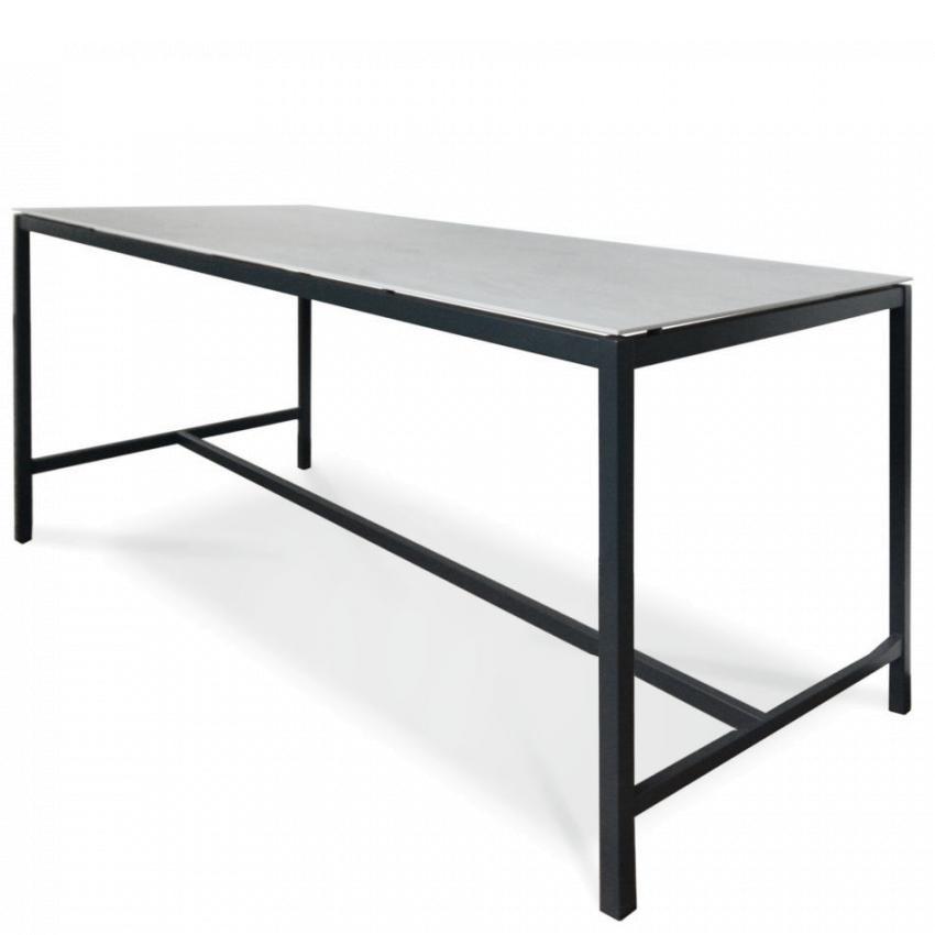 SUITE • High Dining Gartentisch • 80×80cm • div.Platten • Fischer Möbel SUITE • High Dining Gartentisch • div.Platten • Fischer Möbel 79655