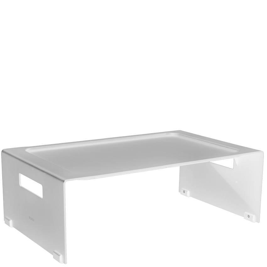 TRAY • Frühstückstablett • Weiss • Aluminium • BOREK TRAY • Frühstückstablett • Weiss • Aluminium • BOREK 59311