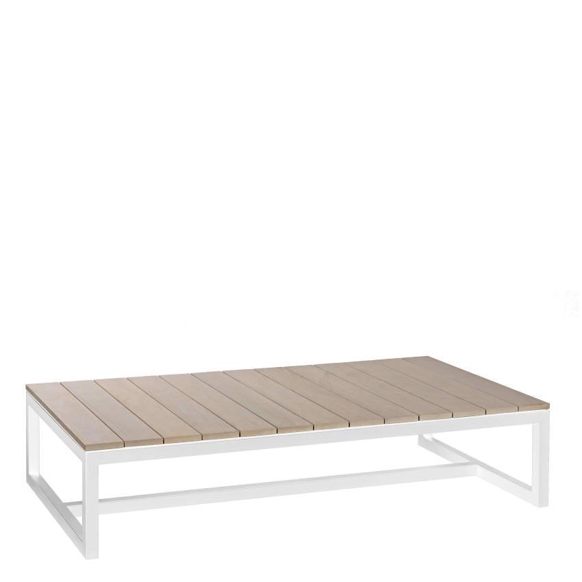 lounge tisch aluminium weiß