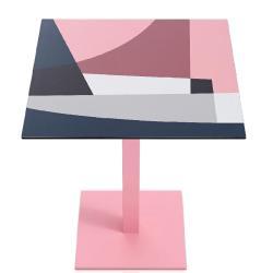 ABSTRAKT MONA • Outdoor Bistrotisch / Gartentisch • T1 / 70×70cm • div.Farben • DIABLA by GANDIA BLASCO