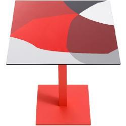 ABSTRAKT MONA • Outdoor Bistrotisch / Gartentisch • T2 / 70×70cm • div.Farben • DIABLA by GANDIA BLASCO