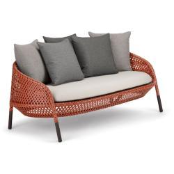 AHNDA • Outdoor 2-Sitzer Sofa • ohne Polster • div.Farben • DEDON