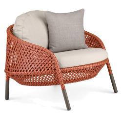 AHNDA • Outdoor Loungesessel / Loungechair • ohne Polster • div.Farben • DEDON