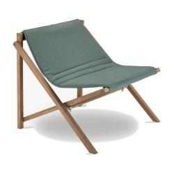 AITO • Klappsessel / Loungesessel • Barriere® Panama Olive Green • SKAGERAK