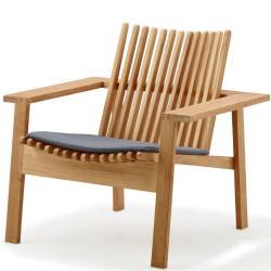 AMAZE • Outdoor Loungesessel / Loungechair • stapelbar • Teakholz • Cane-line