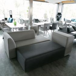 AUSSTELLUNGSSTÜCKE • SETPREIS • STERN DOMINO LOUNGE • 3× Sofa-Elemente