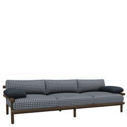 AYANA • Outdoor 3er-Sofa / Loungesofa • inkl.Sitz-/Ruecken-& Armlehnpolster • B&B Italia