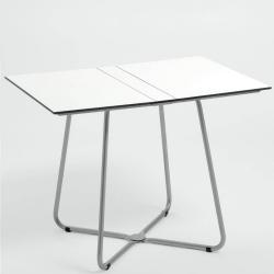 BALCONY • Gartentisch / Klapptisch • 100×70 • Gestell Edelstahl • HPL-PLatten • WEISHÄUPL