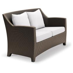 BARCELONA • Outdoor 2-Sitzer Sofa • Bronze • DEDON