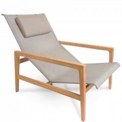 BARCELONA • Outdoor Loungesessel / Loungechair • inkl.Nackenrolle • FISCHER