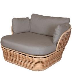 BASKET • Outdoor Loungesessel / Loungechair • Natur • Cane-line