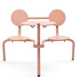 BISTROO • Bistro-Möbel-Garnitur • Beigerot • EXTREMIS