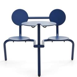 BISTROO • Bistro-Möbel-Garnitur • Kobaltblau • EXTREMIS