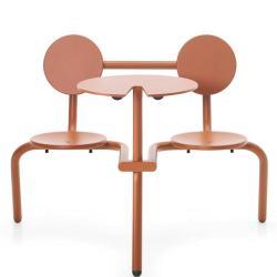 BISTROO • Bistro-Möbel-Garnitur • Kupferbraun • EXTREMIS