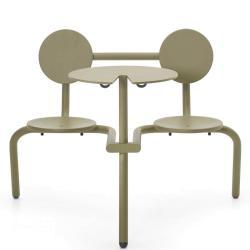 BISTROO • Bistro-Möbel-Garnitur • Schilfgrün • EXTREMIS