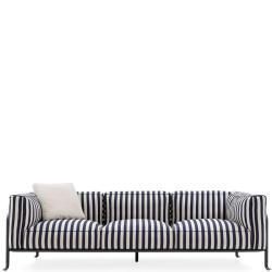 BOREA • 3-Sitzer-Sofa • inkl.Polster • div.Farben • B&B Italia Outdoor