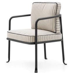 BOREA • Outdoor Loungesessel / Loungechair inkl. Polster • div.Farben • B&B Italia