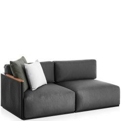 BOSC • Loungemodul 1 • 2-Sitzer LINKS • inkl.Polster • div.Farben • GANDIA BLASCO