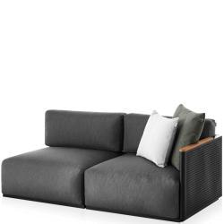 BOSC • Loungemodul 1 • 2-Sitzer RECHTS • inkl.Polster • div.Farben • GANDIA BLASCO