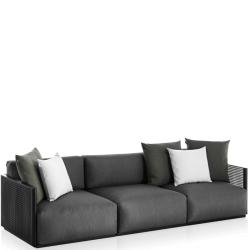 BOSC • Outdoor 3-Sitzer Sofa • inkl.Polster • div.Farben • GANDIA BLASCO