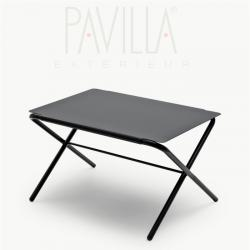 BOW TABLE • Klapptisch / Beistelltisch • Höhe 29,5cm • anthrazit • SKAGERAK