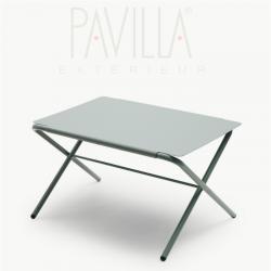 BOW TABLE • Klapptisch / Beistelltisch • Höhe 29,5cm • slate grey • SKAGERAK