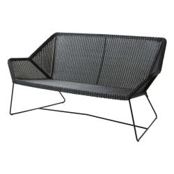 BREEZE • 2-Sitzer-Sofa • Lichtgrau, Schwarz oder Weiß • cane-line