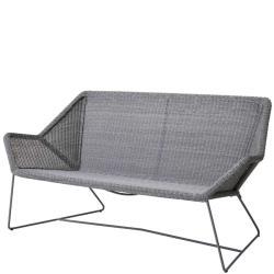 BREEZE • 2-Sitzer-Sofa • Lichtgrau, Schwarz oder Weissgrau • Cane-line